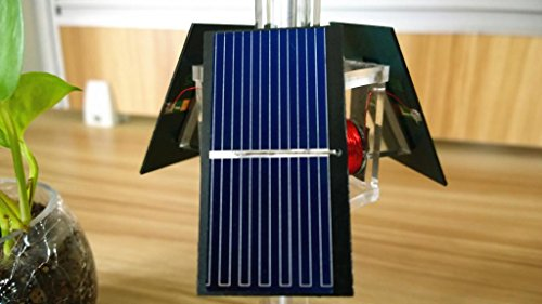 Sunnytech Solar Mendocino Motor Magnetic Levitating Educational Model Vertical Stand QZ05 by Sunnytech (Image #4)