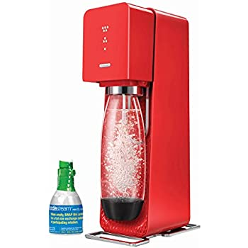 SODASTREAM SOURCE HOME 3 PIECE SPARKLING WATER MAKER STARTER SET