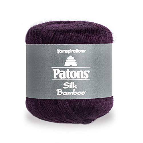 (Patons Silk Bamboo Yarn Orchid)