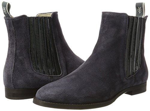 Heel Mujer Para Botas Marc Gris 70714155001308 Chelsea Flat O'polo aAqEP