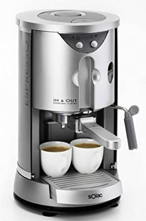 Solac CE 4450 07754.1 In&out - Máquina de café