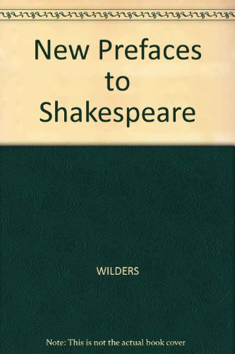 New Prefaces to Shakespeare