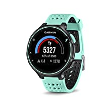 Garmin Forerunner 235 GPS Watch with Heart Rate Monitor, Frost Blue (Renewed)
