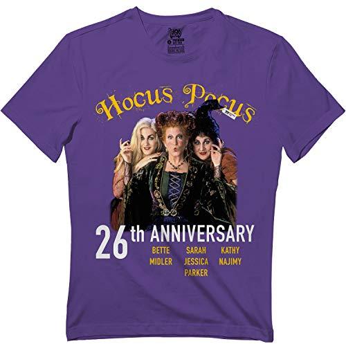 Hocus Pocus 26th-Anniversary Halloween Squad-3 Vintage Tshirt Purple]()