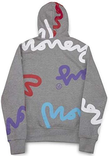 Money Super SIG Zip Hood grau