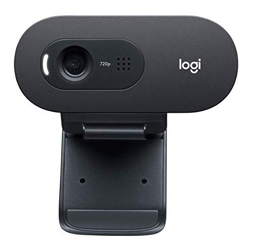 Logitech C270 Desktop or Laptop Webcam,  HD 720p Widescreen for Video Calling and Recording (Renewed) (Logitech Hd Webcam C270 720p)