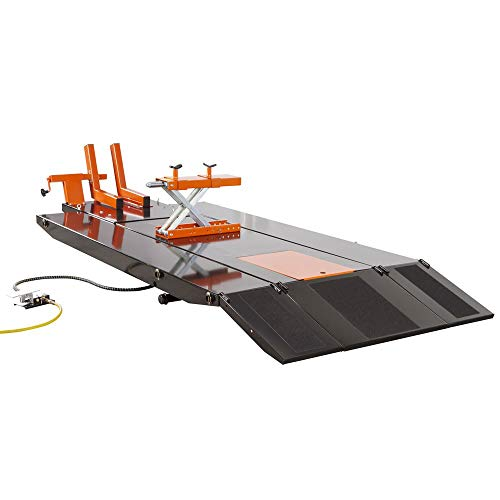 Black Widow BW-PROLIFT-HDXW ProLift Motorcycle Lift Table with Center Jack