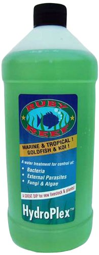 16 Ounce Reef (Ruby Reef ARR11143 Hydroplex Aquarium Water Treatment, 16-Ounce)