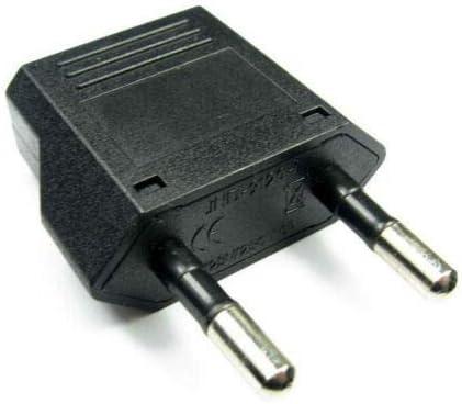 Adaptador de Enchufe USA, Suiza, Italia, etc (Hembra) a España (Macho): Amazon.es: Electrónica