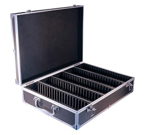 Ursae Minoris Elite Black Aluminum Box for 100 Certified or Certified-Style Coin Holders NGC, PCGS, Little Bear Elite, Premier