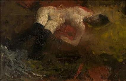 "Amazon.com: Pintura al óleo ""George Hendrik Breitner ..."