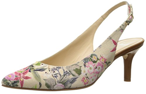 Amalfi by Rangoni Women's Phebe-Fab Dress Pump - White/Mu...