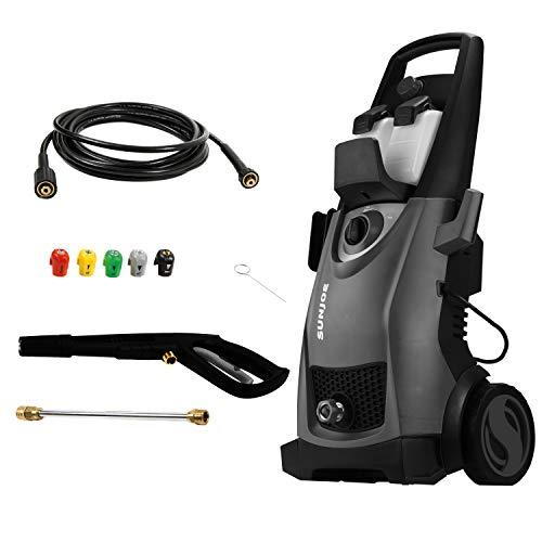 Sun Joe SPX3000-BLK Pressure Joe 2030 PSI 1.76 GPM 14.5-Amp Electric Pressure Washer, Black