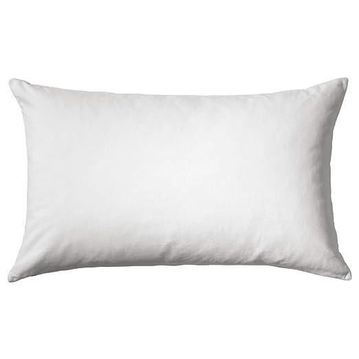 IKEA ASIA VANDEROT - Cojín, Color Blanco: Amazon.es: Hogar