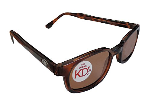 Original X-KD's Biker Polarized Amber Lens Tortoise Shell Frame Sunglasses (Sons Of Anarchy Jax Sunglasses)