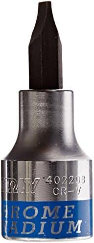 KT Pro Tools 402214 2-3//8 Length 1//2 Drive Slotted Bit Socket