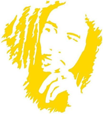 Bob Marley-Vinilo Prespaziato-- 10 cm, color amarillo: Amazon.es ...