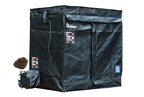 DR-122 Dr Infrared Portable Bedbug Heater, 18 Cubic Feet 2-tier, with Thermometer and - Bed Bug Treatment Heater