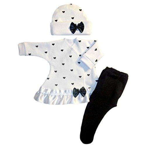 Jacqui's Baby Girls' Little Sweetheart Dress, Micro ()