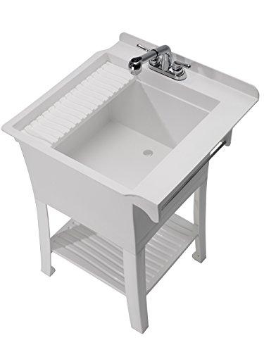 CASHEL 1980-32-01 The Maddox Workstation - Fully Loaded Sink Kit, White by CASHEL (Image #1)