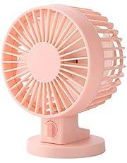 Mini Desk Fan Cooling Portable Cooling Fans USB Double Leaf Fan Chargeable Bed Student Dorm Room Office Desktop Mute Fan