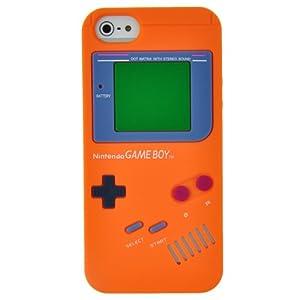Amazon.com: EarlyBirdSavings Orange Game Boy Style