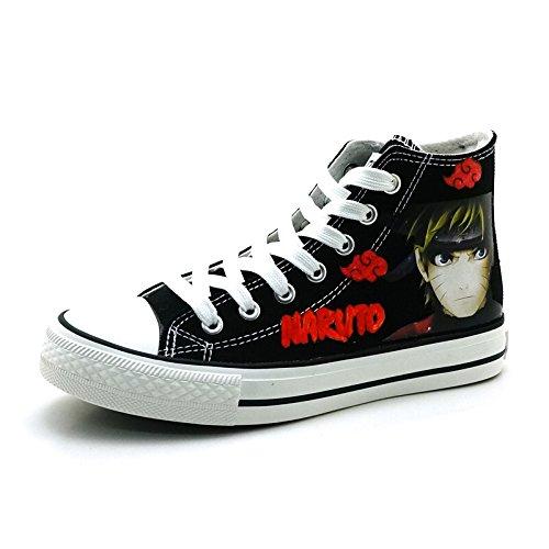 Naruto Anime Uzumaki Naruto Cosplay Schoenen Canvas Schoenen Sneakers