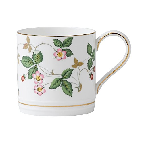 Wedgwood Wild Strawberry 1/2-Pint Coffee Mug