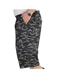 ZXHHL Multi-Pocket Sweatpants Beach Pants