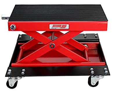 Extreme Max Wide Motorcycle Scissor Jack - 1100 lb.