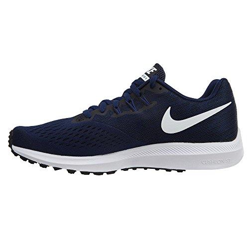 Bra Tank black Binary White Long Definition Nike Damen Blue TPqfwI