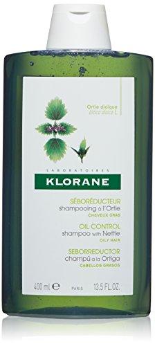 Klorane Shampoo with Nettle - champuses (Mujeres, No profesional, Champú, Cabello graso, Voluminizadora, Nettle)