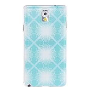 GX Patrón de Kinston Flor Luz de plástico duro caso para Samsung Note3