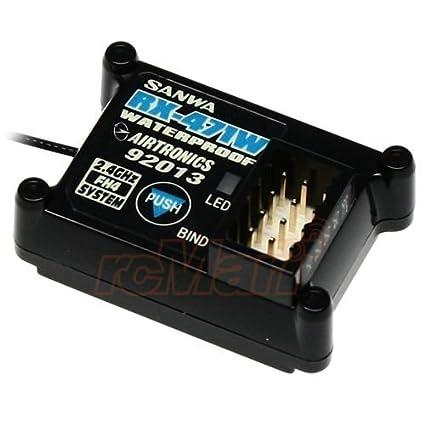 Sanwa 2 4GHz FH4 Waterproof Receiver EP 1:10 RC Car On Off Road Crawler  #RX-471W /item# G4W8B-48Q39250