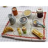 限定レア美品フェーヴ 朝食セット陶器の置物