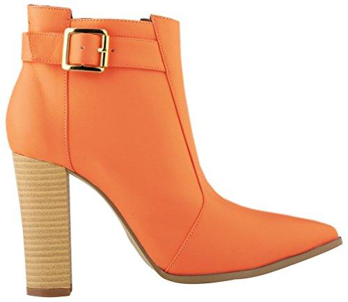 Sandali Zeppa Con Cfp Donna Orange d01nO0WqTp