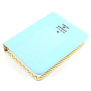 Miayon 64 Pockets Photo Album for Mini Fujifilm Instax Mini 8 7s 25 50s 90 Polaroid & Name Card(Blue) Color: bluie, Model: