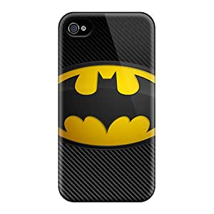 Durable Defender Case For Iphone 4/4s Tpu Cover(batman)