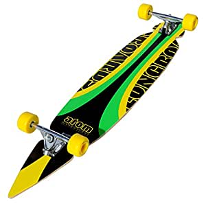 Amazon.com : Atom Pintail Super Carver Longboard ...