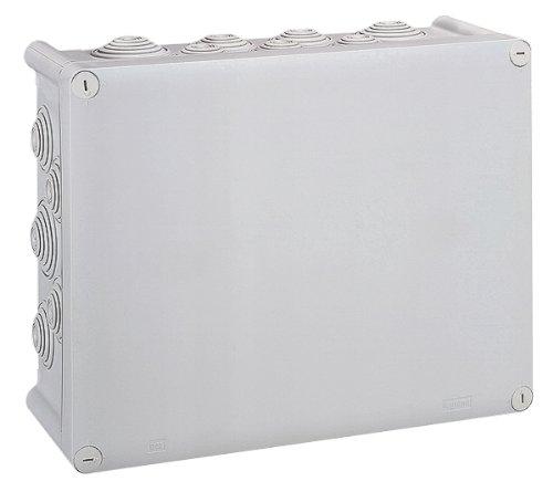 Legrand LEG92034 Boîte carrée étanche plexo entrée défonçable IP55/ik07 Gris