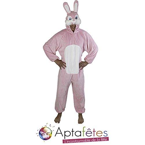 Chaks Cs924490 - Costume Peluche Lapin Rose Toon 180 Cm