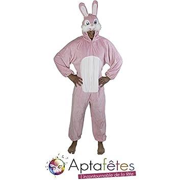 Aptafêtes CS924490 - Disfraz de conejo para mujer, talla única ...