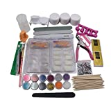 Acrylic Powder Glitter Nail Art Kit False Nail Tips Nail Art Decoration Tools