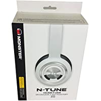 Monster N-Tune On-Ear Headphones with ControlTalk, White