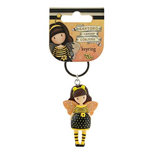 Gorjuss Figurine Keyring 631GJ10 - Bee Loved Just ()