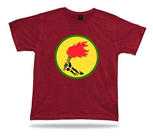 (Body-Soul-n-spirit Zaire Flag Democratic republicof The Congo Souvenir Funny Tshirt Classic Apparel)