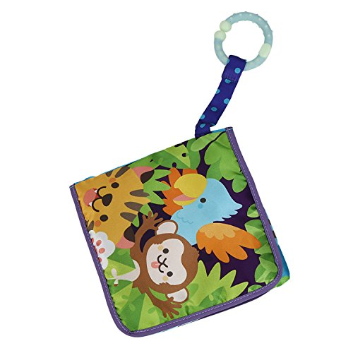 Labebe Baby Book, Toddler Activity Book Toy, Baby Jungle Book for Baby Aged 3-24 Month, Cloth Book/Soft Book/Toy Book/Fabric Book/Learning book/Baby Christmas Book/Soft Activity Book