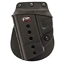Fobus Standard Holster Left Hand Paddle SWMPLH S&W M&P 9mm, .40, .45, Compact and Full Size, SD 9 and 40 Left Hand