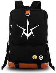 Siawasey Code Geass Anime C.C. Cosplay Canvas Bookbag Backpack Shoulder Bag School Bag