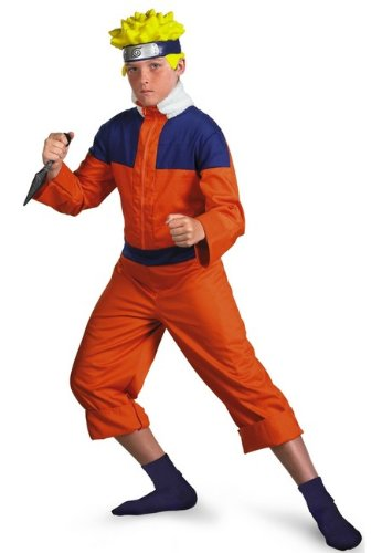 Naruto Ninja Clan Costume - Child Costume deluxe - Teen size (14-16)